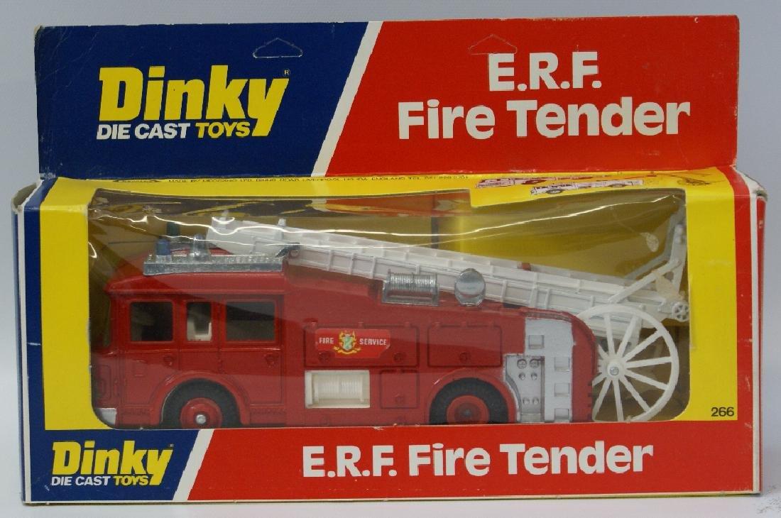 1978 DINKY #266 Diecast ERF FIRE TENDER Truck