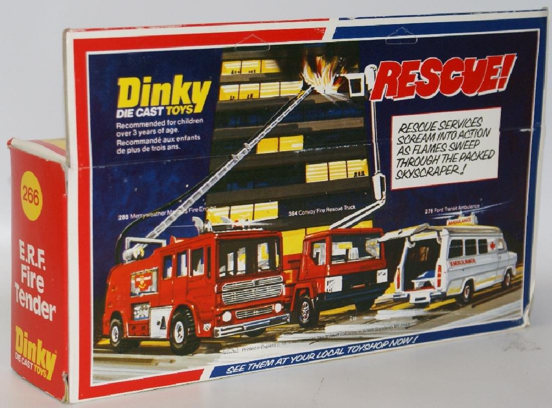 1978 DINKY #266 Diecast ERF FIRE TENDER Truck - 2