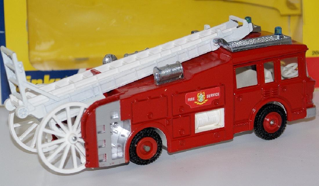 1978 DINKY #266 Diecast ERF FIRE TENDER Truck - 4
