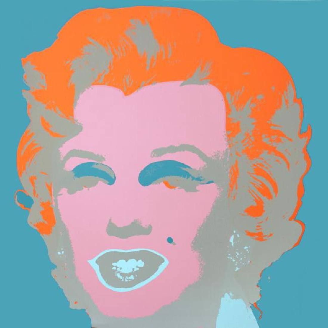Sunday B Morning Serigraph Marilyn Andy Warhol