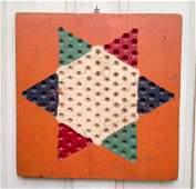 5 Color Game Board Circa 1920s