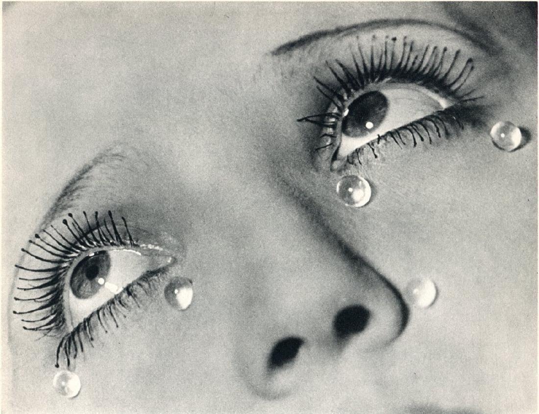 MAN RAY -  Larmes de Verre (Glass Tears)