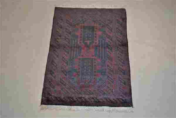 Semi-Antique Persian Balouch Rug 3x5
