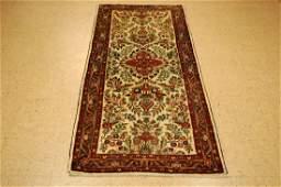 Antique Kork Wool Persian Malayer Runner Rug 29x610