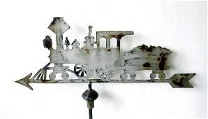Graphic Locomotive Weathervane