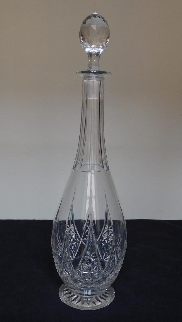 Baccarat Crystal Wine Decanter, Epron Pattern - 2