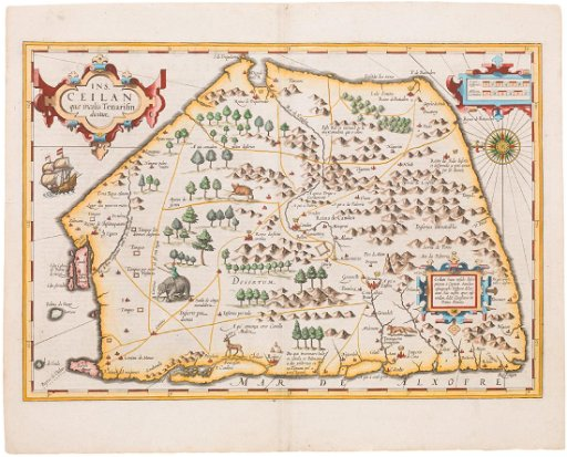 Mercator / Hondius: Antique Map of Ceylon, 1609 on tunis map, sumatra map, timbuktu map, bengal map, punjab map, moluccas map, canton map, south asia, malaysia map, china map, kiev map, ghana map, burma map, japan map, gujarat map, kabul map, damascus map, morocco map, singapore map, tibet map, congo africa located on map,