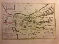 Mortier: Antique Map of Turkey Black Sea Coast, 1705