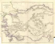 Arrowsmith: Antique Map of Asia Minor, 1842