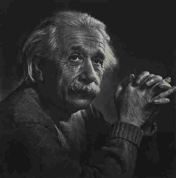 YOUSUF KARSH - Albert Einstein