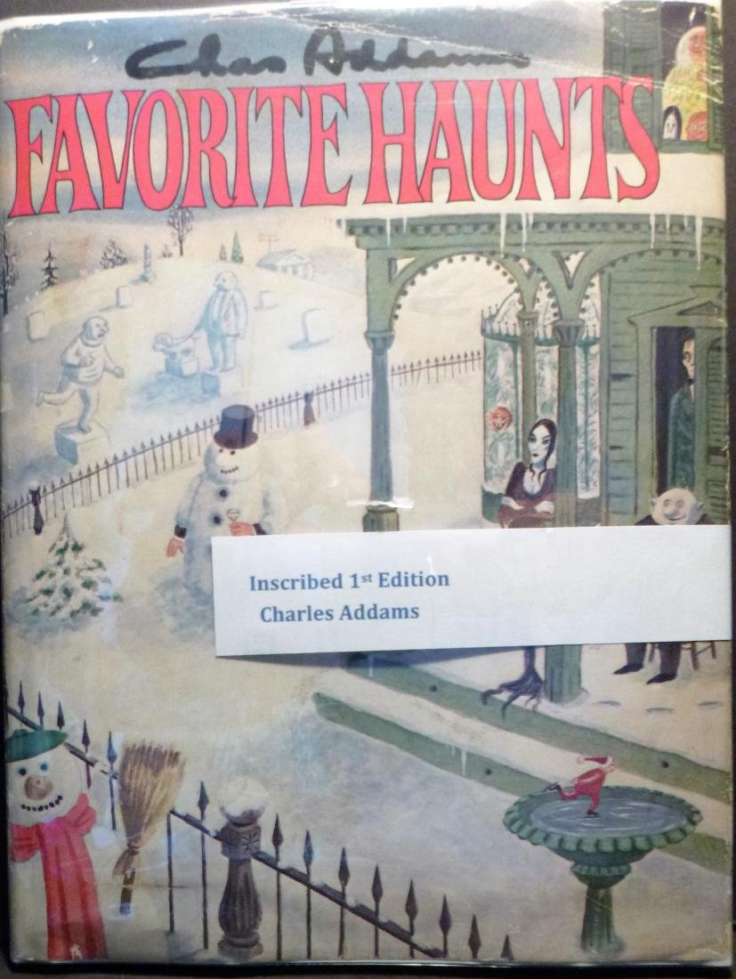 Favorite Haunts - Signed First Edition Charles Addams