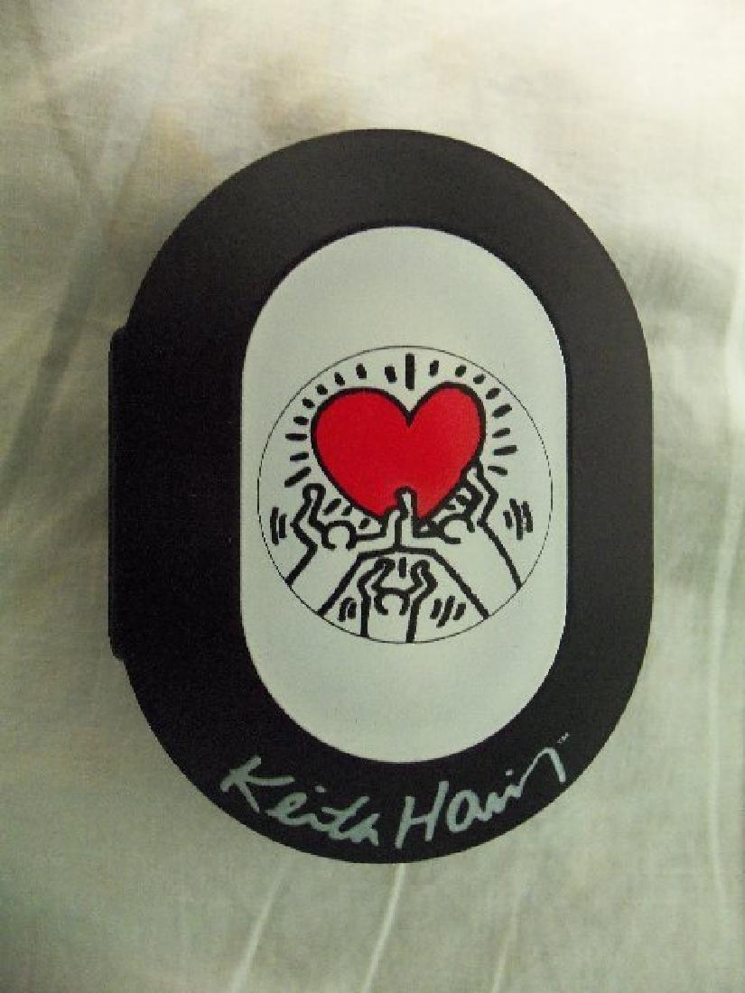 Vintage Keith Haring Pop Shop Watch White