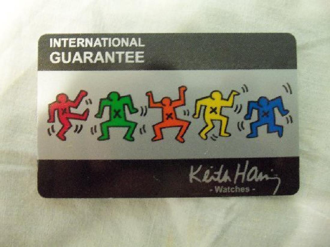 Vintage Keith Haring Pop Shop Watch White - 7