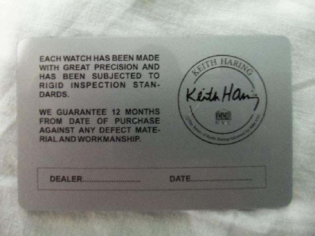 Vintage Keith Haring Pop Shop Watch White - 8