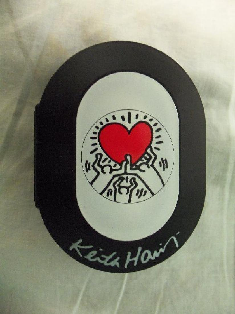 Vintage Keith Haring Pop Shop Watch Red