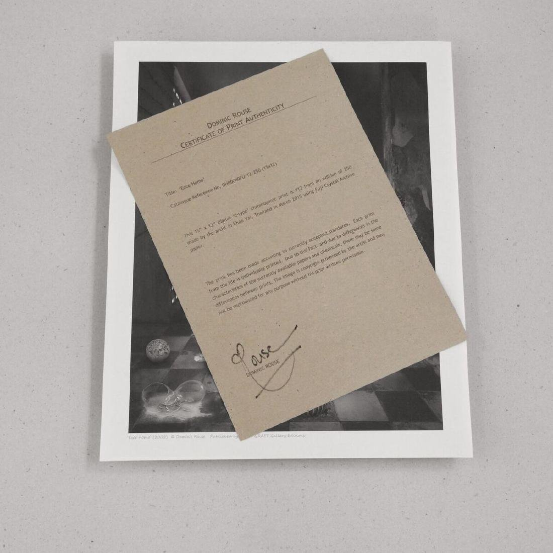 Dominic Rouse Chromogenic Print Ecce Homo - 3