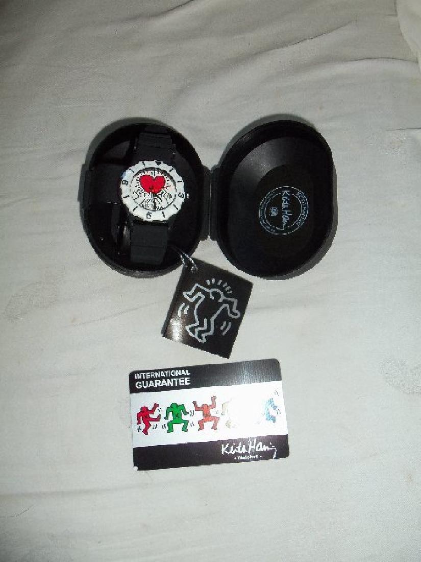 Vintage Keith Haring Pop Shop Watch Black - 4
