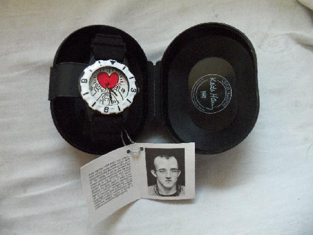 Vintage Keith Haring Pop Shop Watch Black - 5