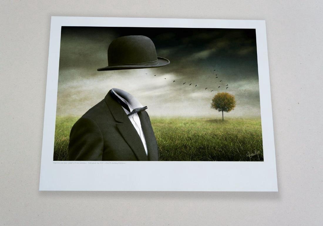 Ben Goossens Chromogenic Print Magritte was here - 2
