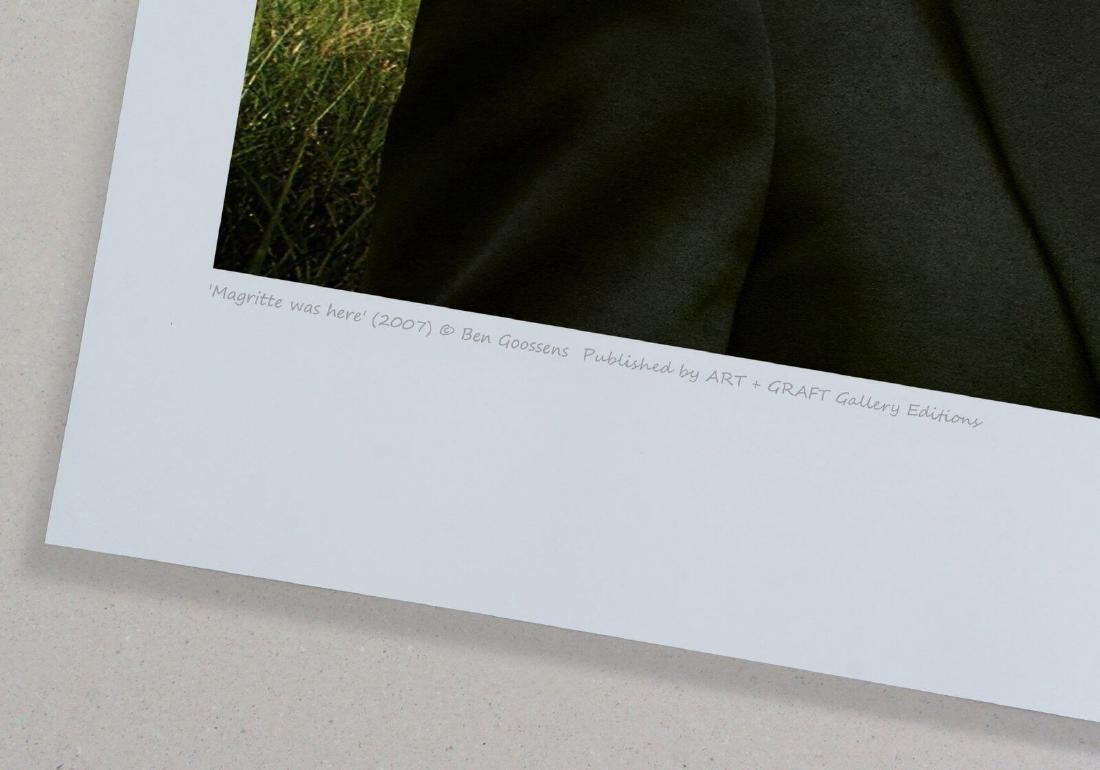 Ben Goossens Chromogenic Print Magritte was here - 4