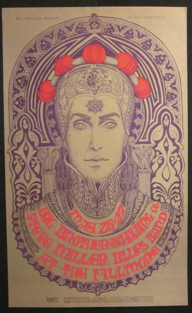 """The Prince"" Bill Graham Fillmore Poster"