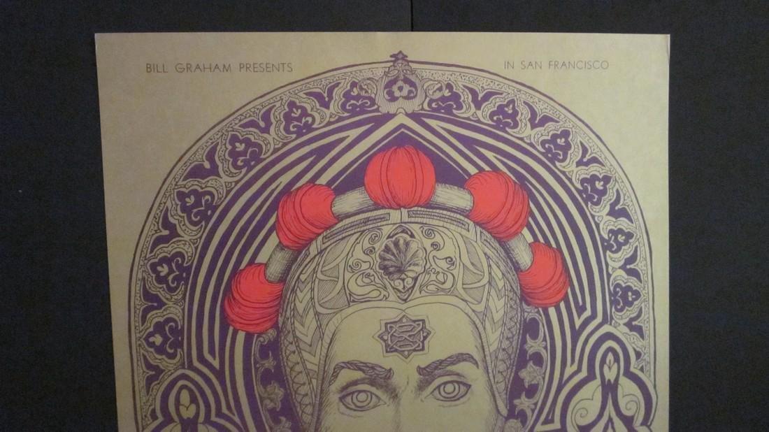 """The Prince"" Bill Graham Fillmore Poster - 2"