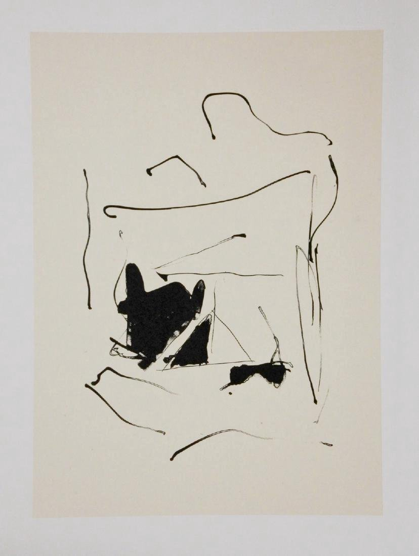 Robert Motherwell Lithograph on Chine Colle Octavio