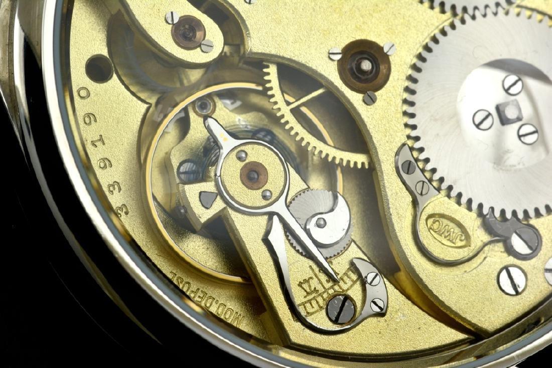 IWC Schaffhausen Stainless Steel Gold Dial Manual Watch - 10
