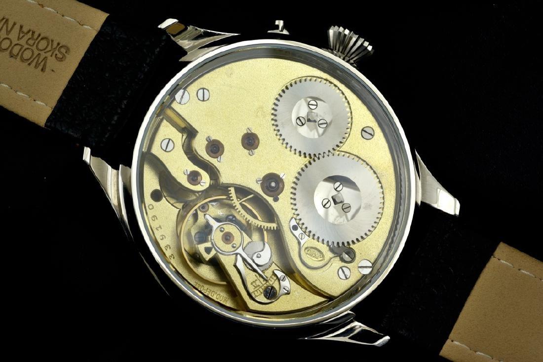 IWC Schaffhausen Stainless Steel Gold Dial Manual Watch - 9