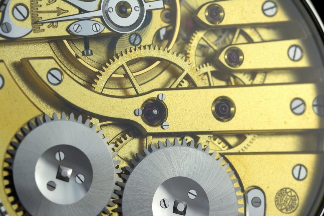 IWC Schaffhausen Stainless Steel Black Dial Watch - 10