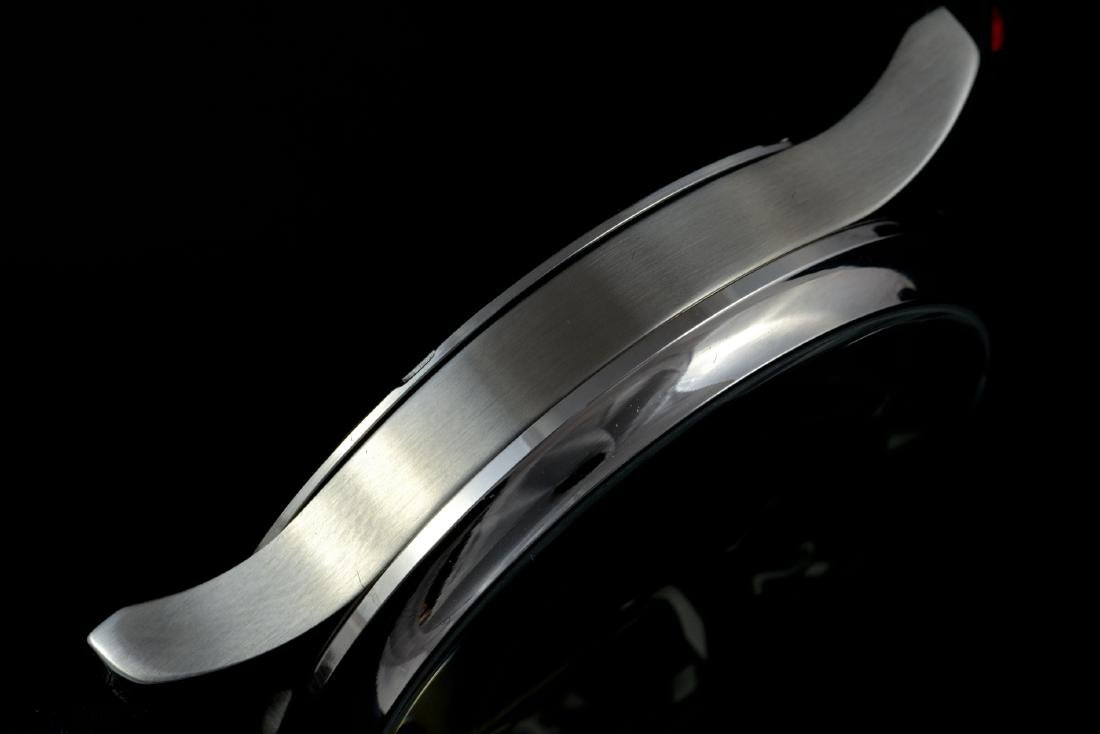 IWC Schaffhausen Stainless Steel Black Dial Watch - 7