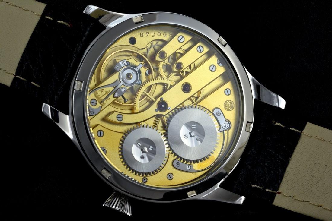 IWC Schaffhausen Stainless Steel Black Dial Watch - 8