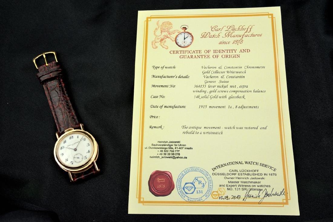 Vacheron & Constantin 14K Solid Gold Manual Watch - 10