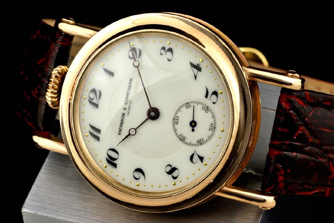 Vacheron & Constantin 14K Solid Gold Manual Watch - 3