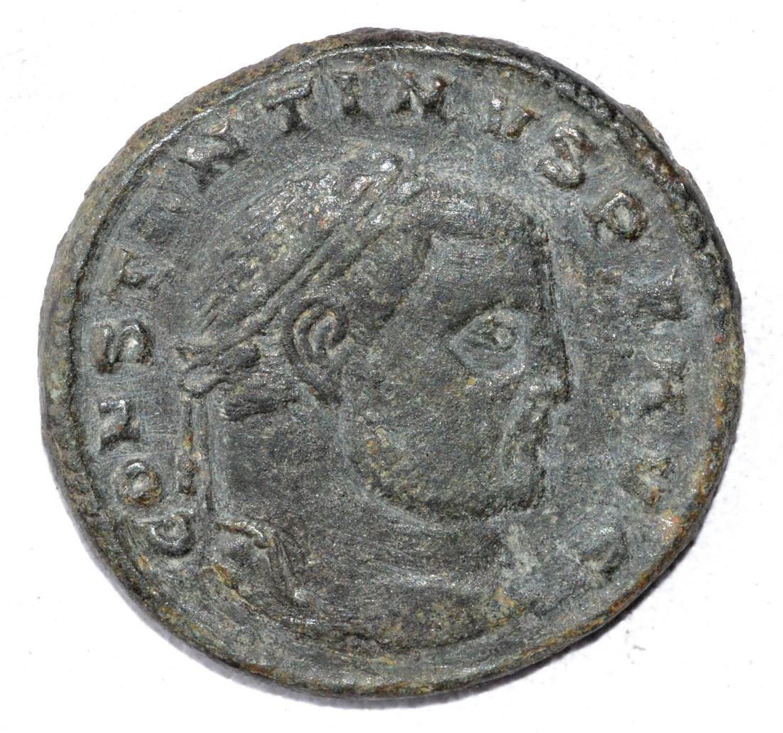 Ancient Roman Large Follis Coin - House of Constantine
