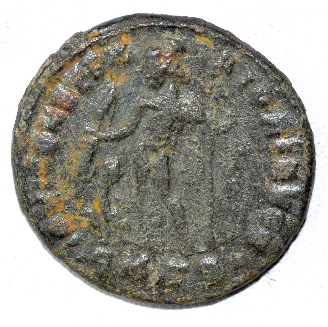 Ancient Roman Large Follis Coin - House of Constantine - 2