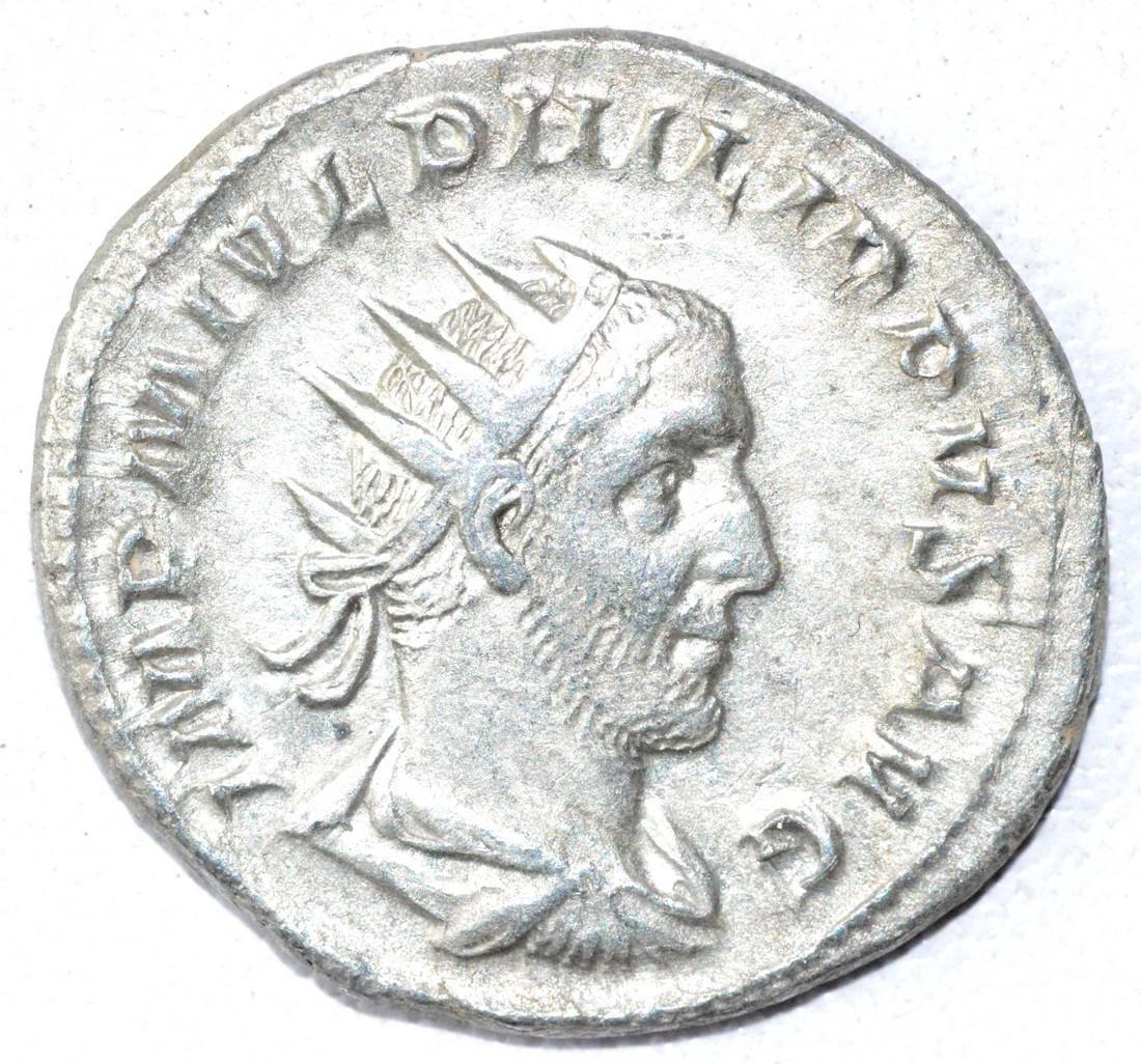 Ancient Roman Antoninianus Coin - Philip II