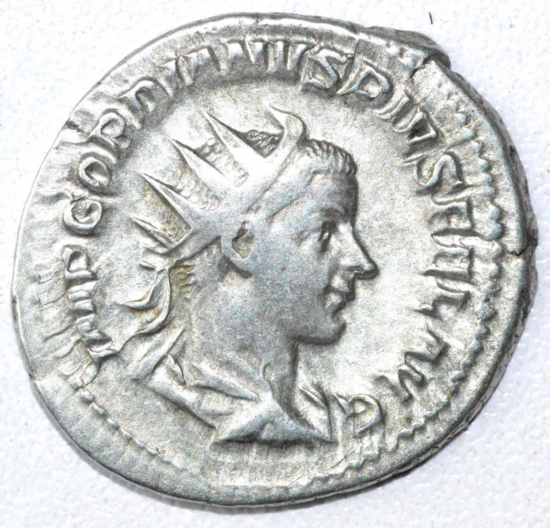 Ancient Roman Antoninianus Coin - Gordian III