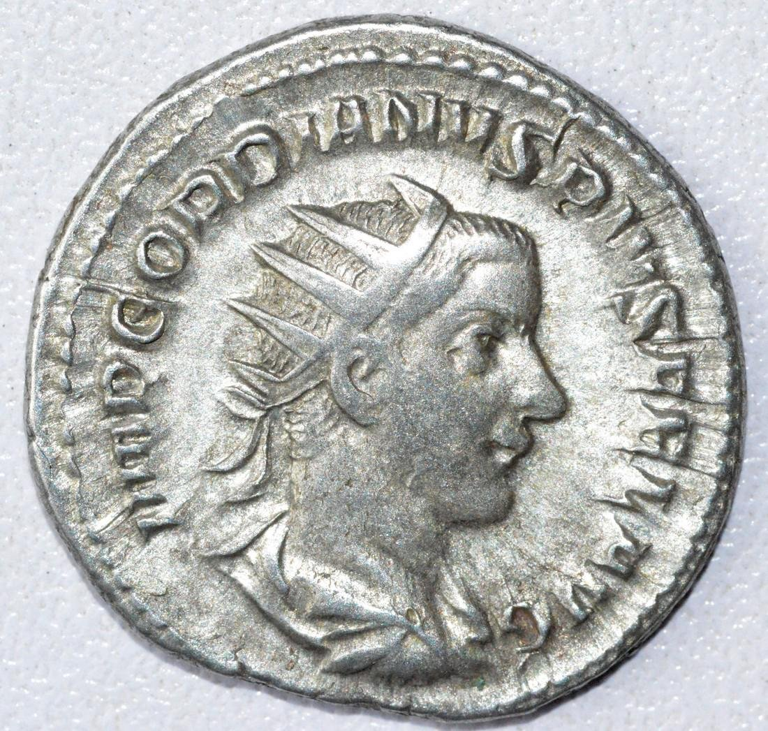 Ancient Roman Antoninianus Coin - Gordian III