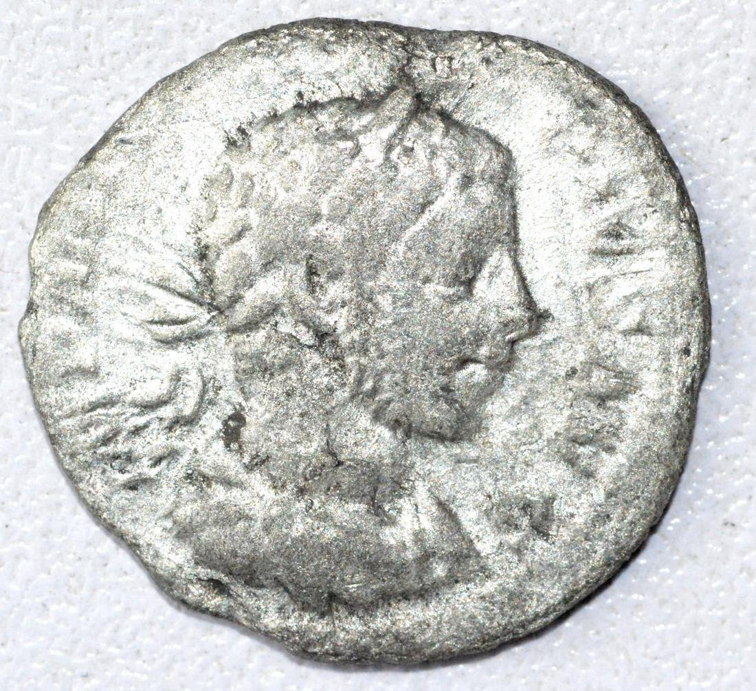 Ancient Roman Denarius Coin - Alexander Severus