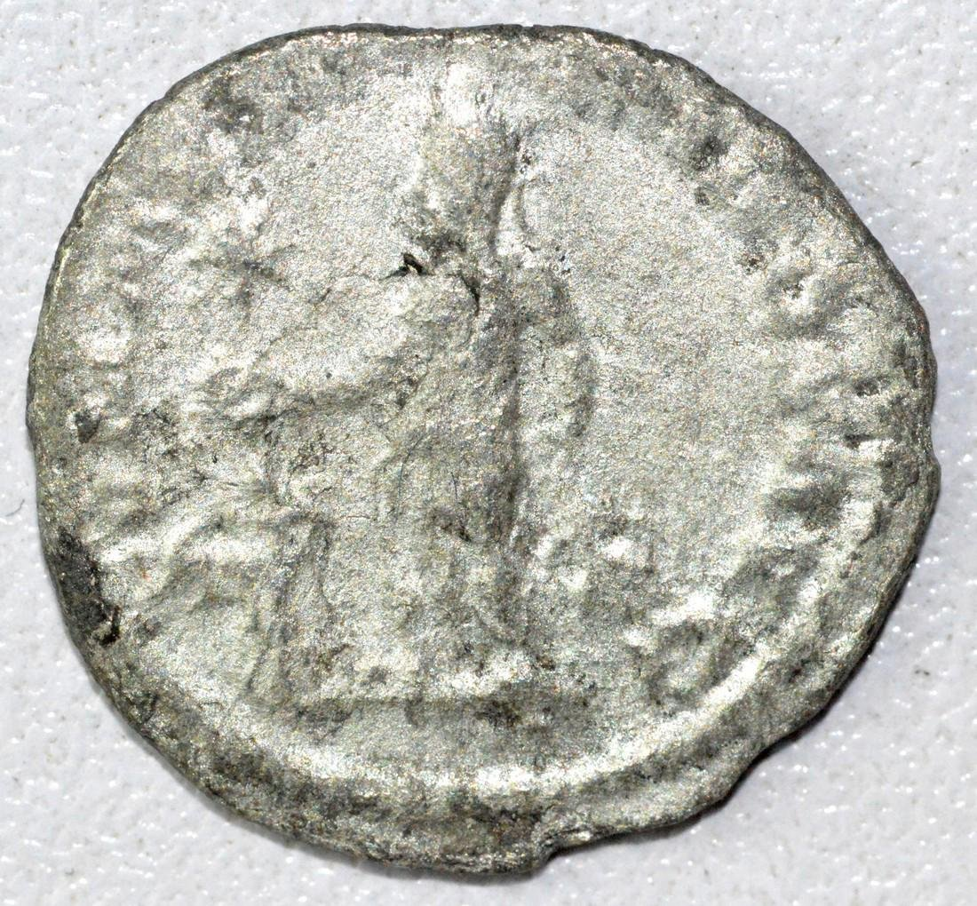 Ancient Roman Denarius Coin - Alexander Severus - 2