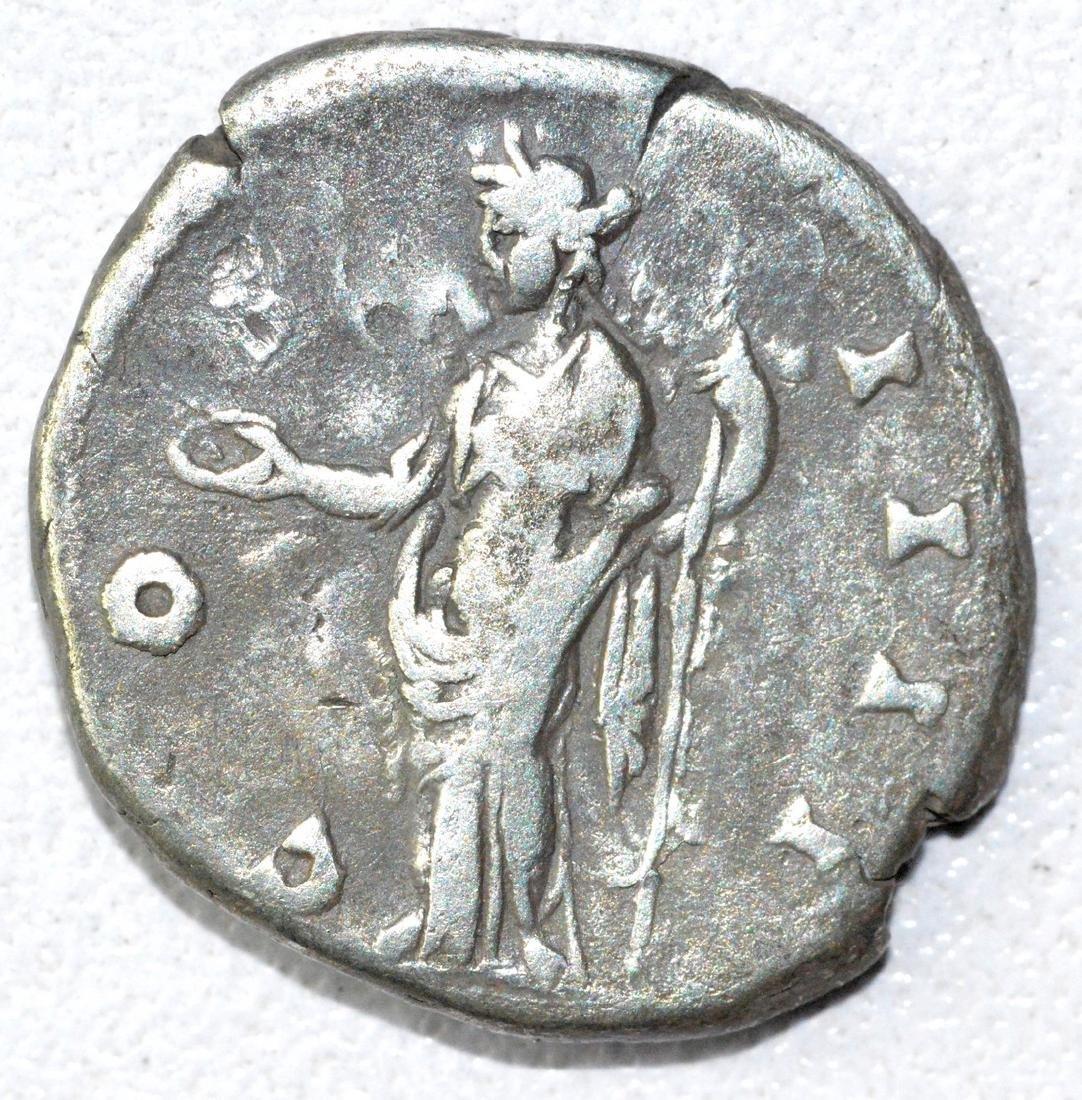 Ancient Roman Denarius Coin - Antoninus Pius - 2