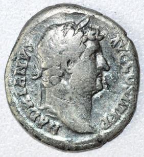 Rare Ancient Roman Denarius Coin -  Hadrian