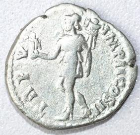 Ancient Roman Denarius Coin - Lucius Verus - 2