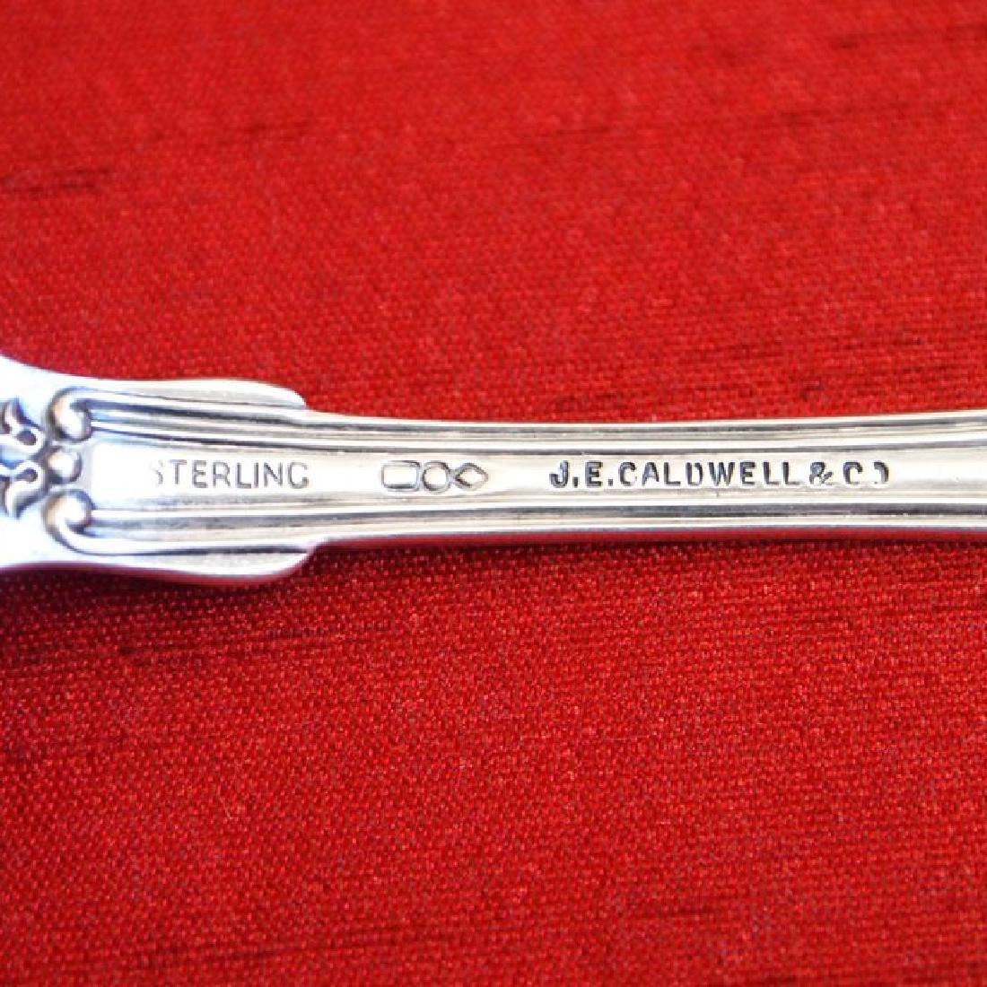 Antique Dominick & Haff Sterling Silver Sugar Spoon - 3