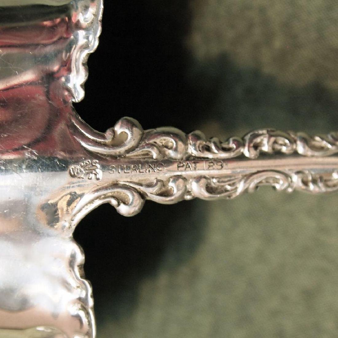 Antique Whiting Louis XV Sterling Silver Gravy Ladle - 3