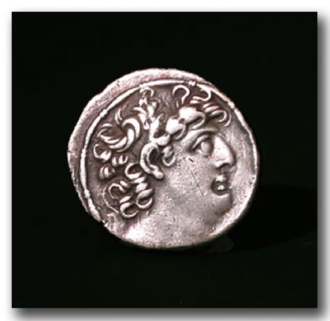 Greek Silver Tetradrachm, Philip Philadelphos ,