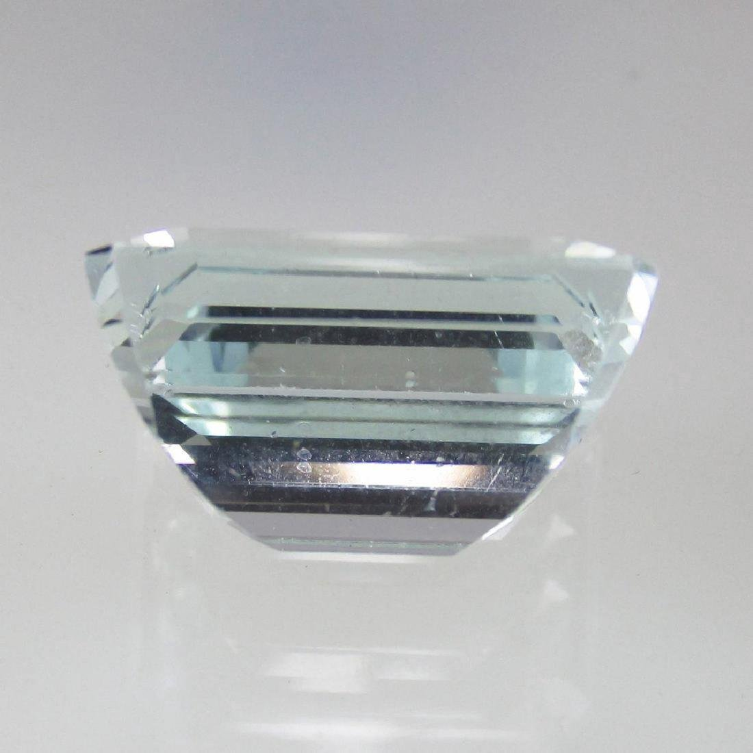 6.78 Carat Natural Loose Aquamarine - 3