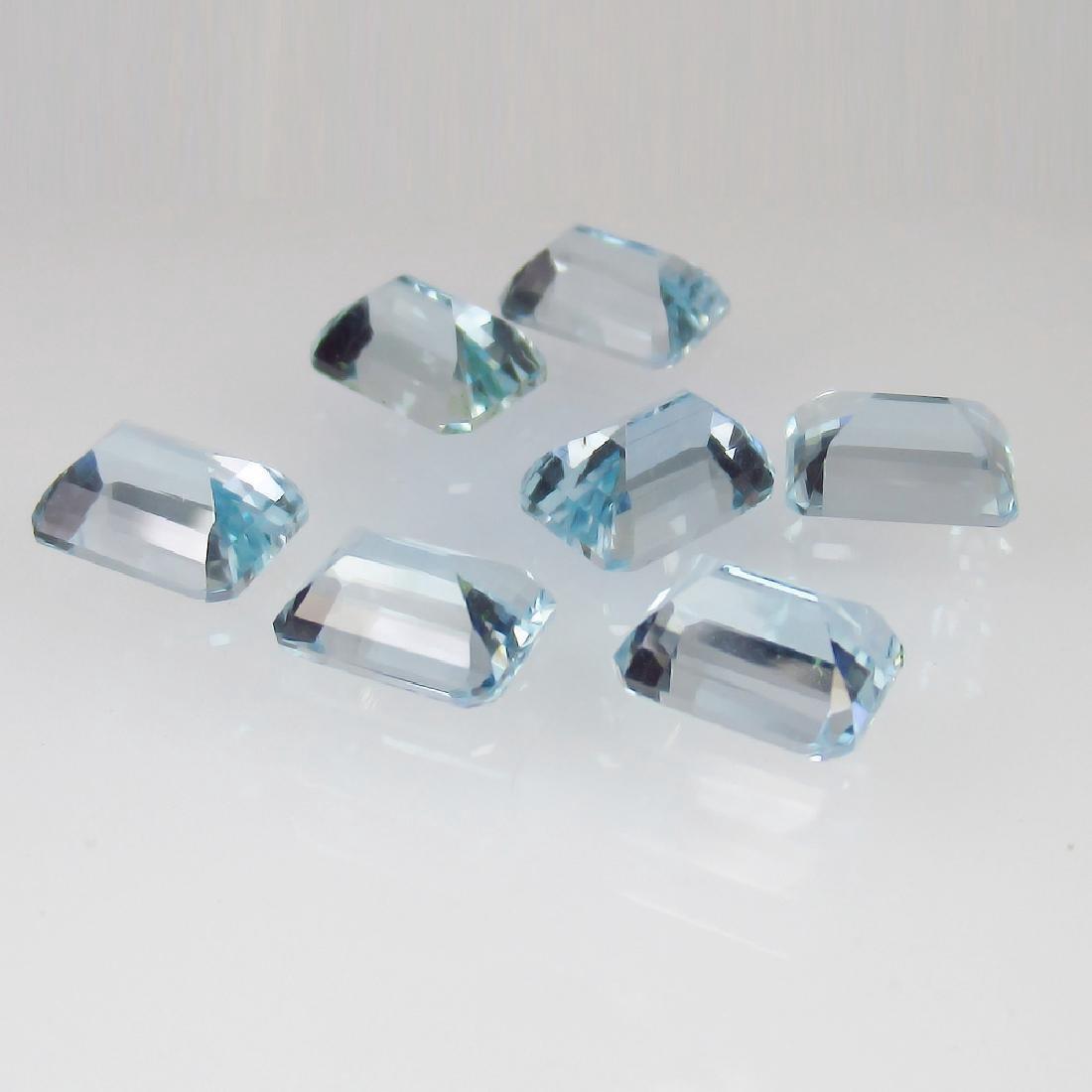 10.85 Carat Loose Aquamarine Necklace Set - 2