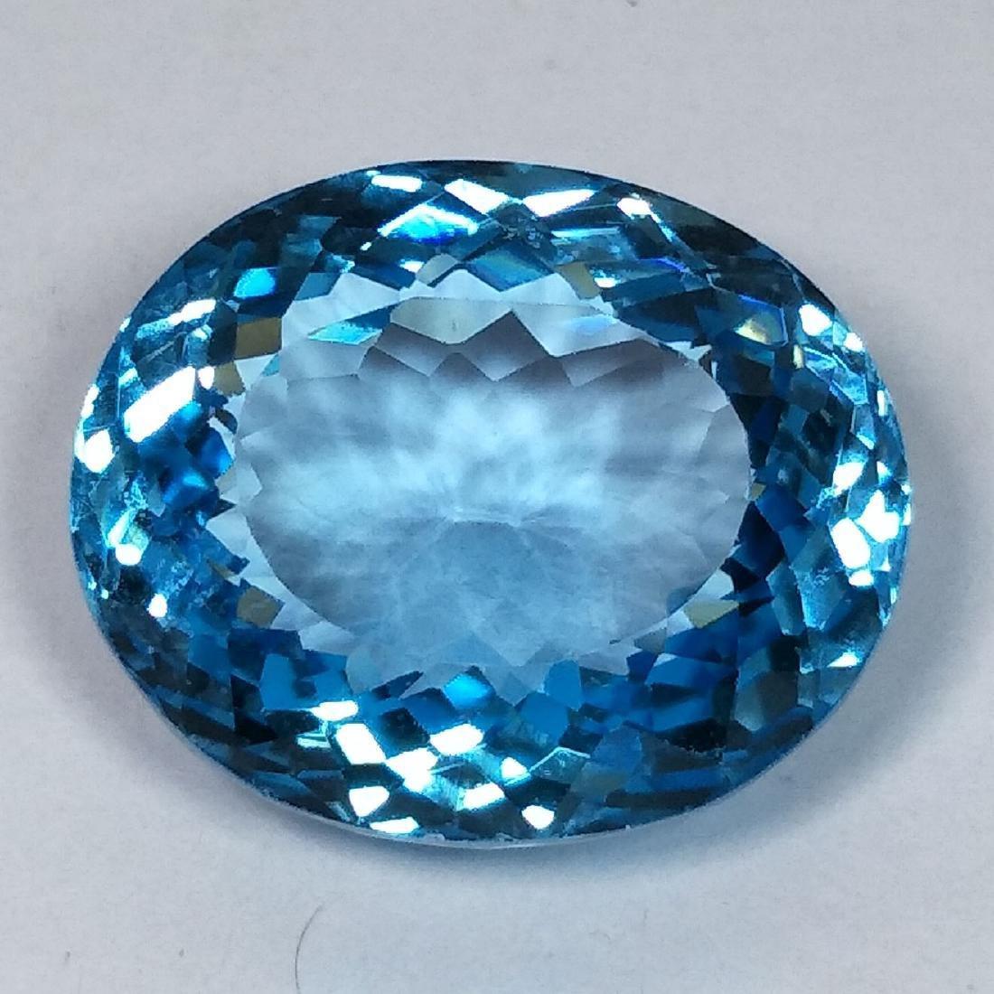 31.09 Carat Loose Swiss Blue Topaz
